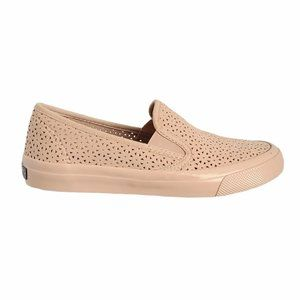 NWOT Pale Pink Sperry Loafers, Size 6